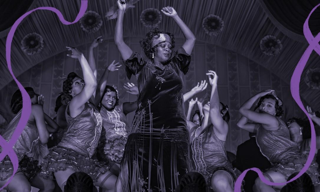 """Viola Davis como Ma Rainey em cena de """"A voz suprema do blues"""" Foto: Reprodução"""