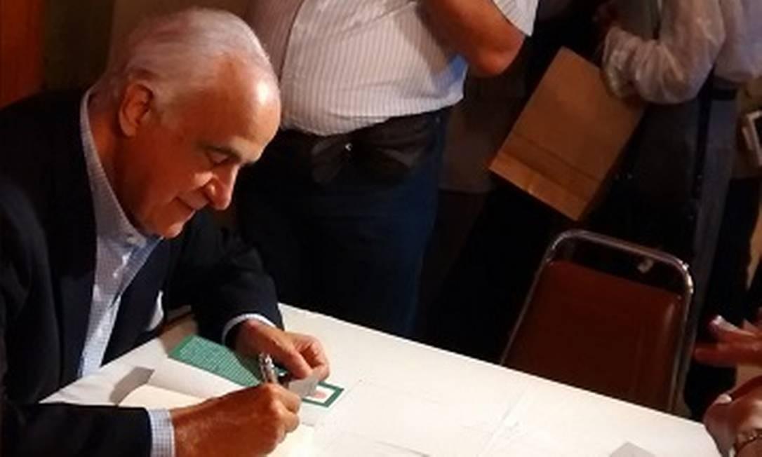 O diplomata Synesio Sampaio Goes Filho Foto: Reprodução