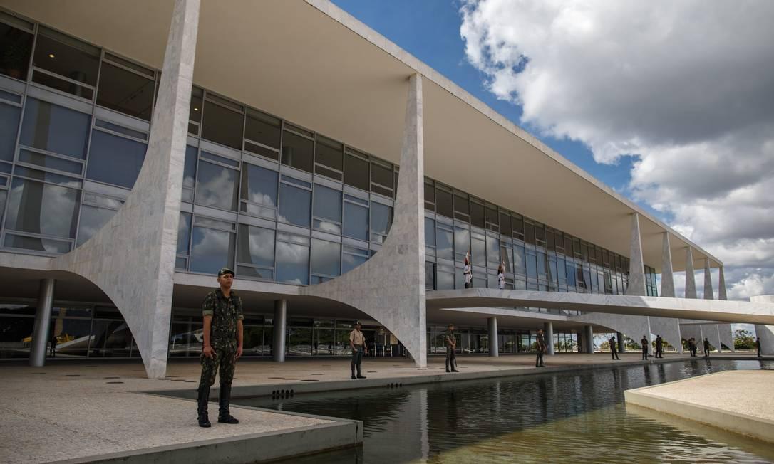 A fachada do Palácio do Planalto 29/05/2019 Foto: Daniel Marenco / Agência O Globo