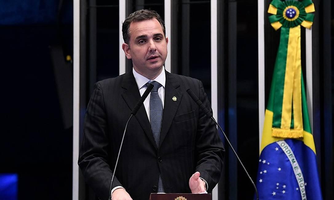 Rodrigo Pacheco (DEM-MG) é candidato à presidência do Senado Foto: Agência Senado dezembro/2019