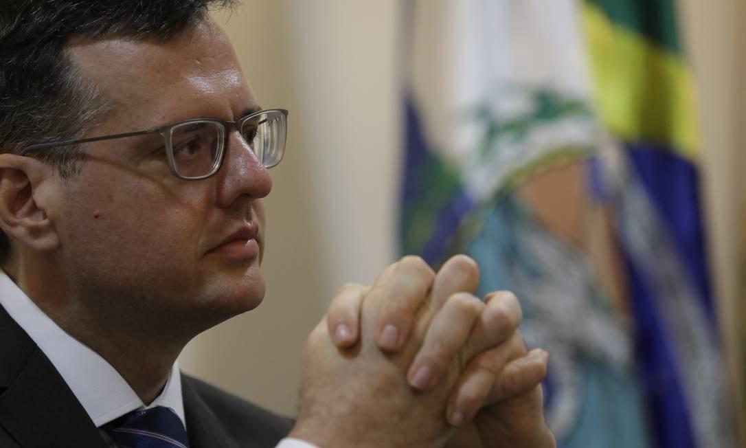 Defensor público-geral Rodrigo Pacheco tomou posse, pela segunda vez, na quinta-feira Foto: Custódio Coimbra em 04-01-2019 / Foto de arquivo/Agência O GLOBO
