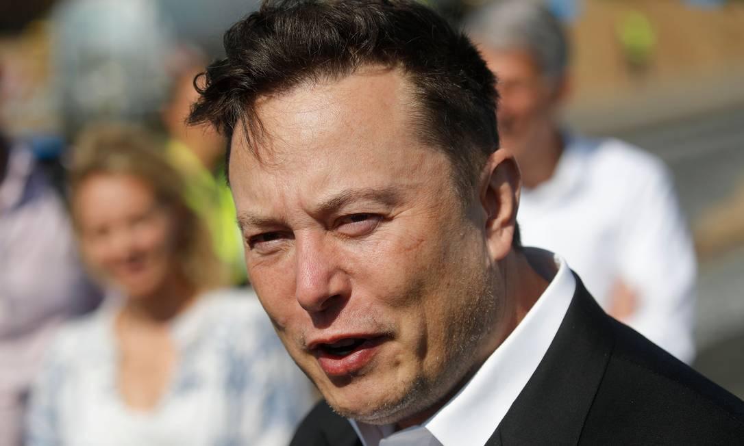 Homem mais rica do mundo, Elon Musk, dono da Tesla, tem o maior patrimônio líquido já registrado: US$ 208 bilhões Foto: ODD ANDERSEN/AFP
