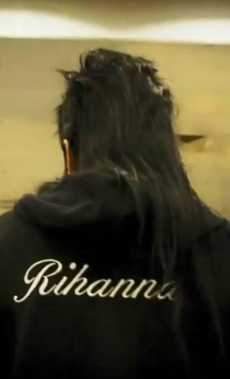 PRESENTE: Fashionista das fashionistas, Rihanna não poderia deixar de seguir a tendência Foto: Instagram