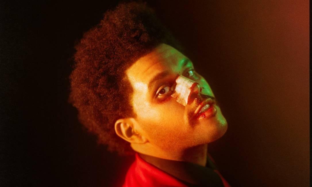 """Outro grande jovem nome do revival é The Weeknd, com o álbum """"After hours"""". O destaque é """"Blinding lights"""" (música mais ouvida do Spotify em 2020). Foto: Divulgação"""