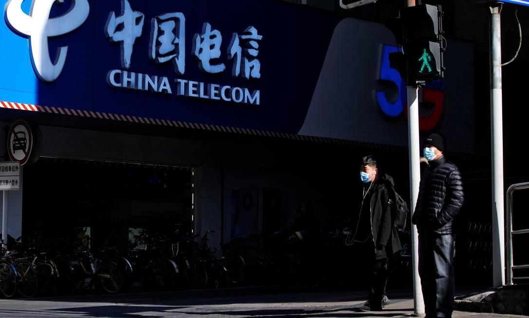 A China Telecom está entre as três operadoras chinesas excluídas de índices de ações Foto: ALY SONG / REUTERS