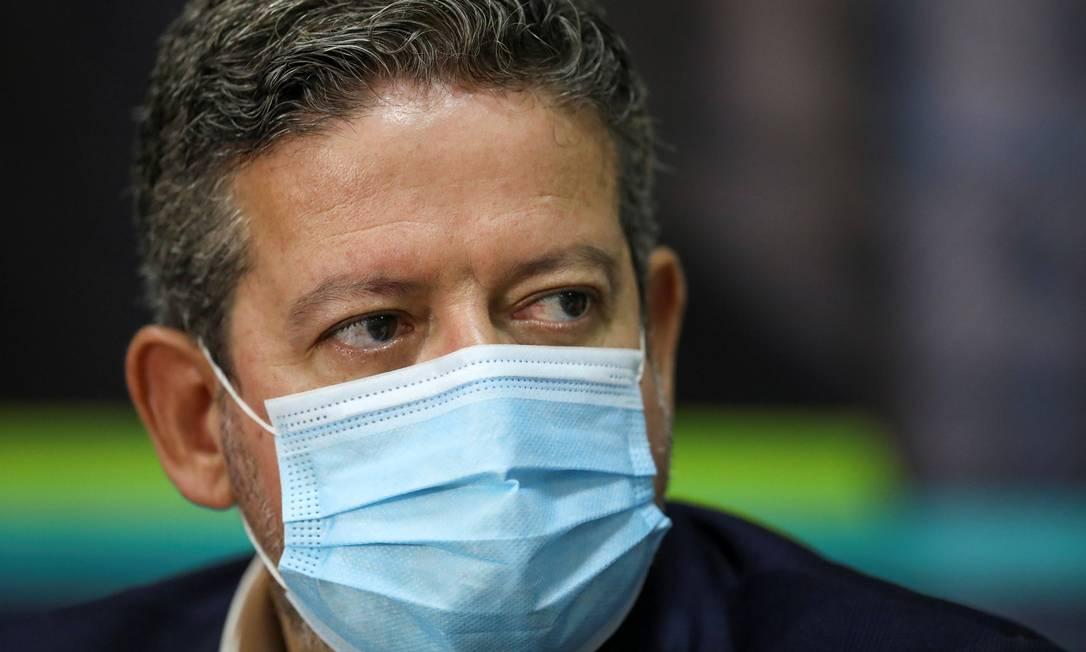 O deputado Arthur Lira (PP-AL), candidato a presidente da Câmara Foto: Bruno Kelly / REUTERS