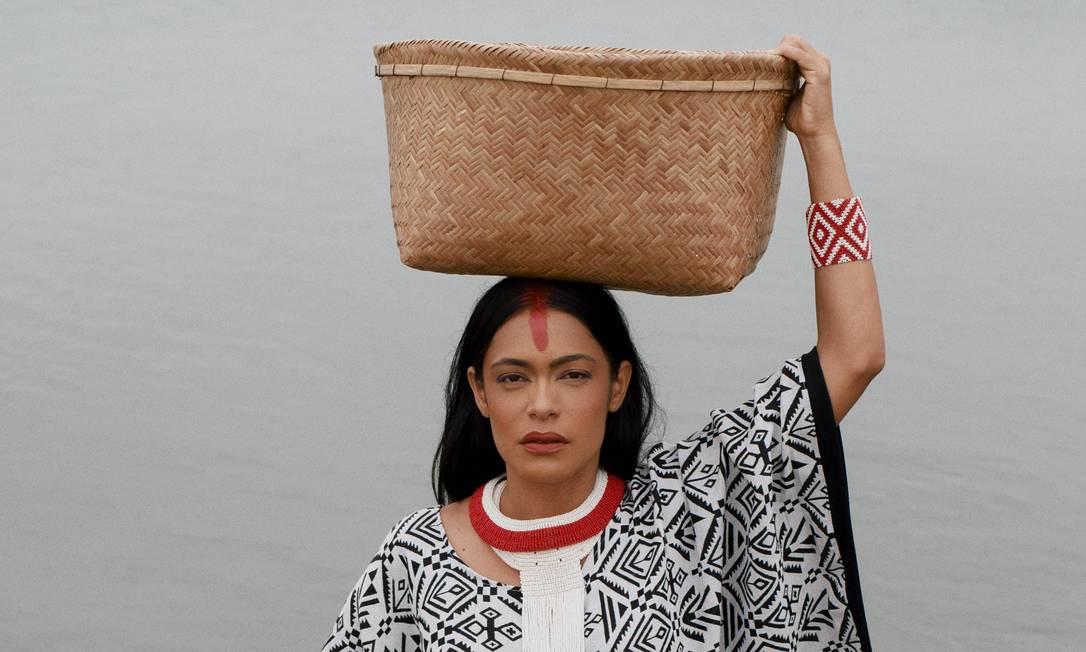 Ensaio produzido para o projeto Descoloniza a Moda Foto: Divulgação/Gustavo Paixão