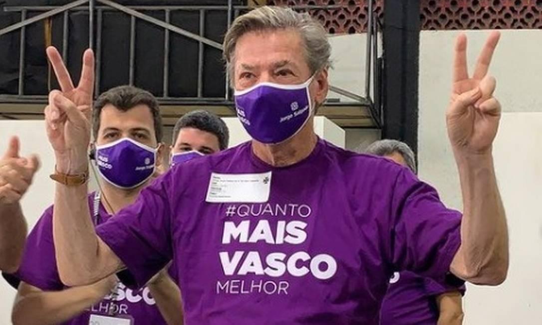 Jorge Salgado foi eleito presidente do Vasco Foto: Divulgação