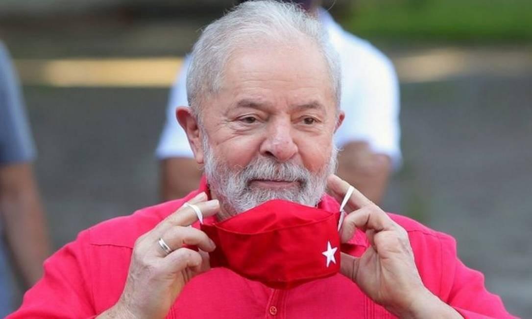 Recursos fundamentais para o futuro do ex-presidente Luiz Inácio Lula da Silva e do senador Flávio Bolsonaro aguardam decisão de Gilmar Mendes Foto: Reuters