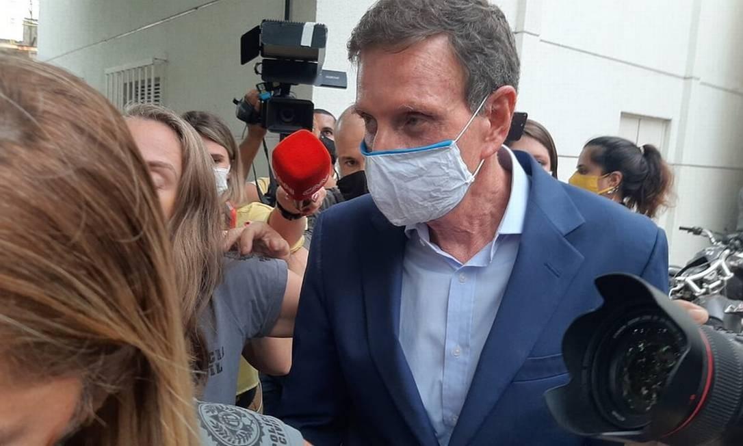 Marcelo Crivella é acusado de participar de um esquema chamado 'QG da propina' Foto: Divulgação