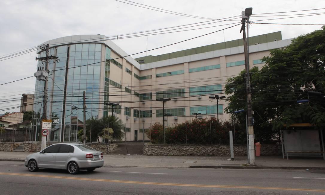 Fachada do Hospital Oceânico: unidade é a maior referência para tratamento de pacientes com Covid-19 no municipio Foto: Berg Silva / Prefeitura de Niterói