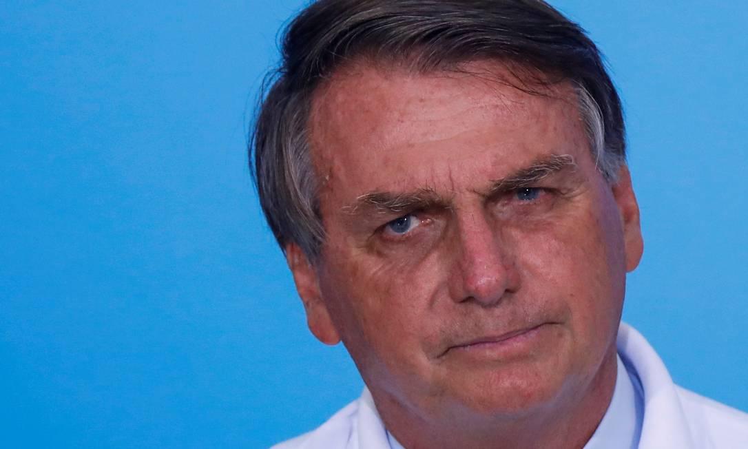O presidente Jair Bolsonaro rebateu críticas de quem afirmou que ele não estava cumprindo um compromisso de campanha Foto: Adriano Machado/Reuters/12-02-2021