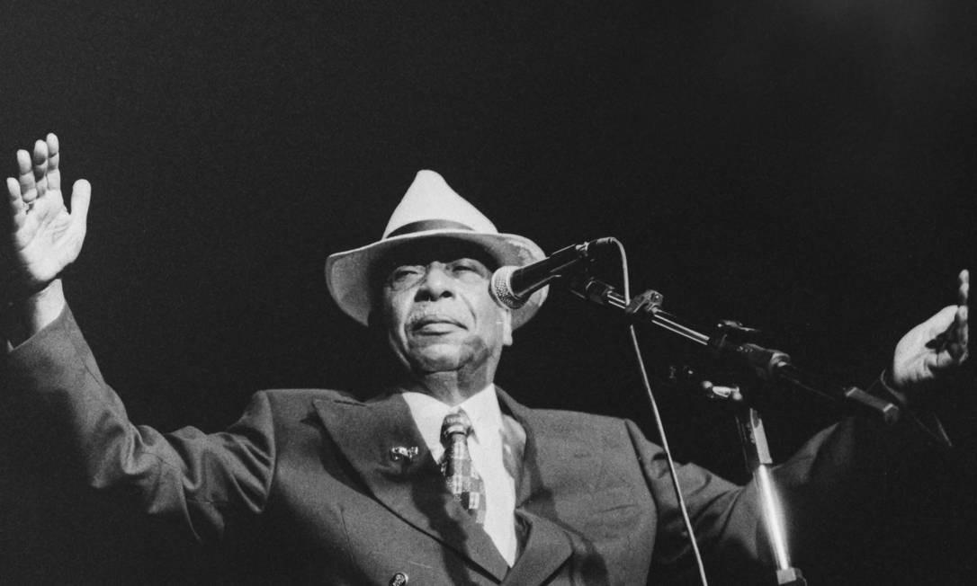 O cantor Zé Kéti (1921-1999) Foto: Marco Aurelio Olimpio / Divulgação