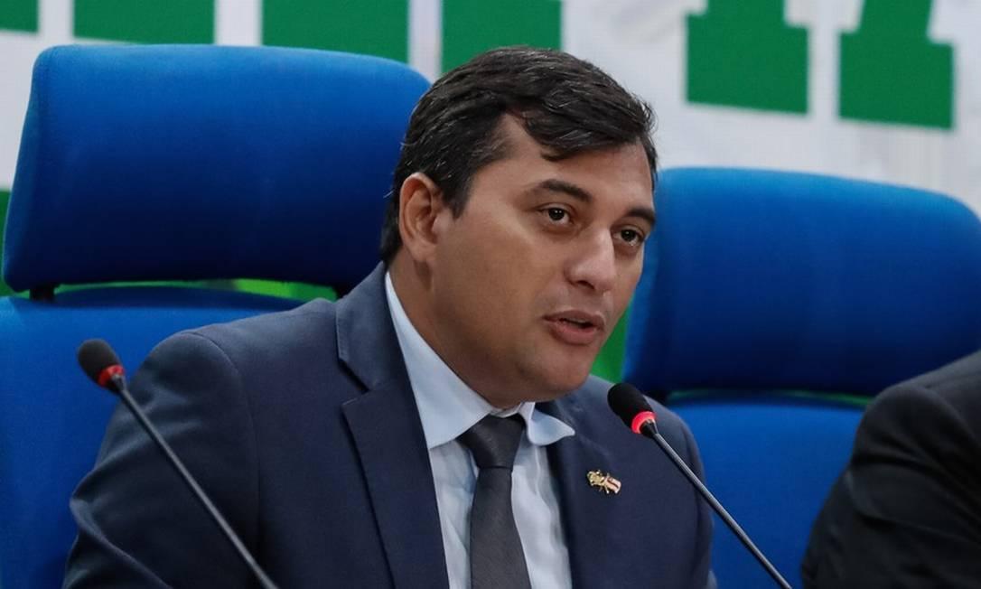 O governador do Amazonas, Wilson Lima (PSC) Foto: Divulgação