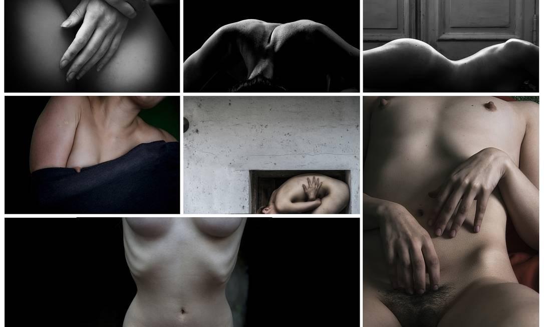 """Reencontro de Patrícia Ackerman com a fotografia resultou no políptico """"Fragmentos"""", um estudo sobre origem, corpo e casa. Foto: Divulgação"""