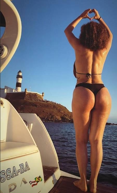 Vanessa da Mata na Bahia Foto: Reprodução / Instagram