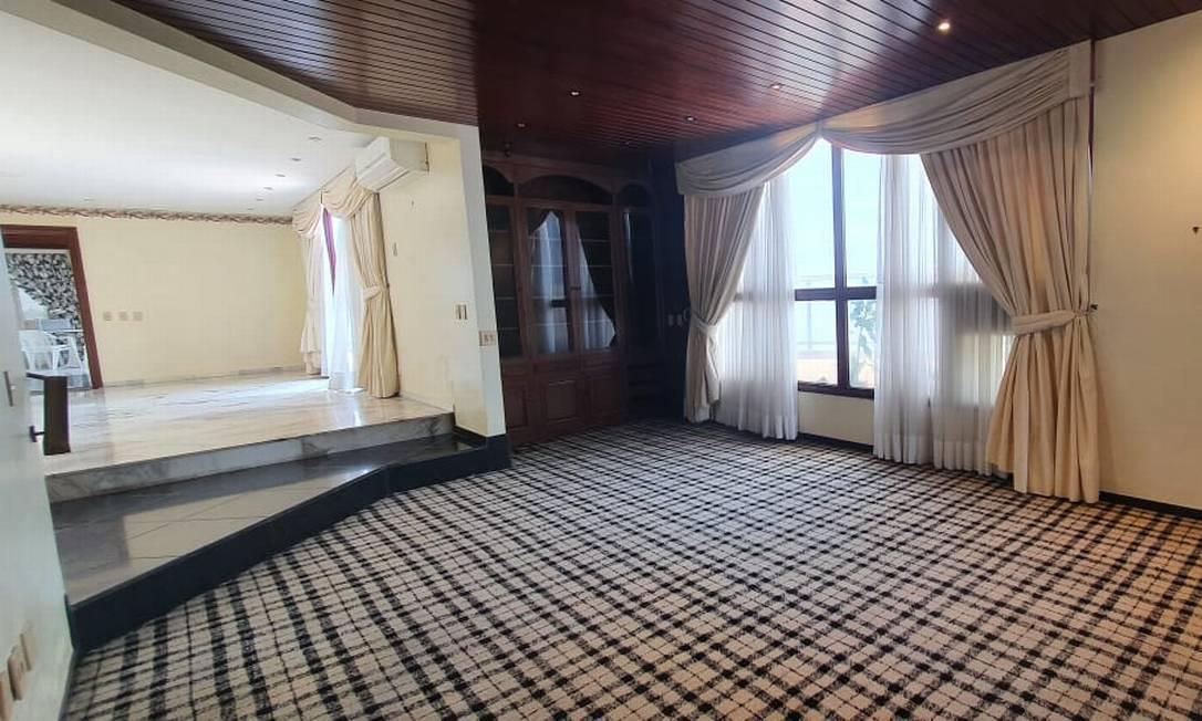 Cobertura duplex, à venda por R$ 45 milhões, com vista para o mar do Arpoador Foto: Divulgação