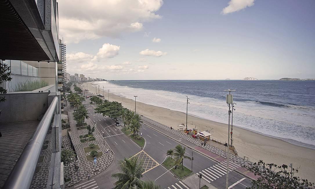 Cobertura no Leblon à venda por R$ 65 milhões Foto: Divulgação