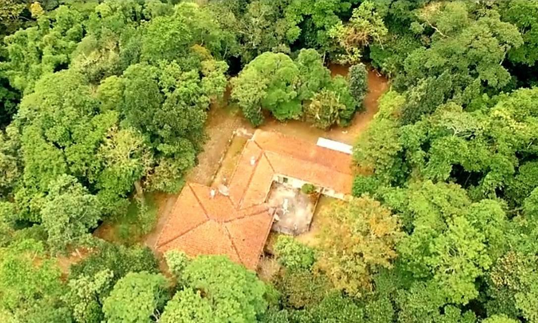 Casa na Gávea Pequena, à venda por R$ 24 milhões Foto: Divulgação