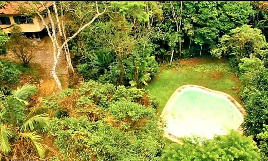 Propriedade na Gávea Pequena tem até rio e nascente Foto: Divulgação