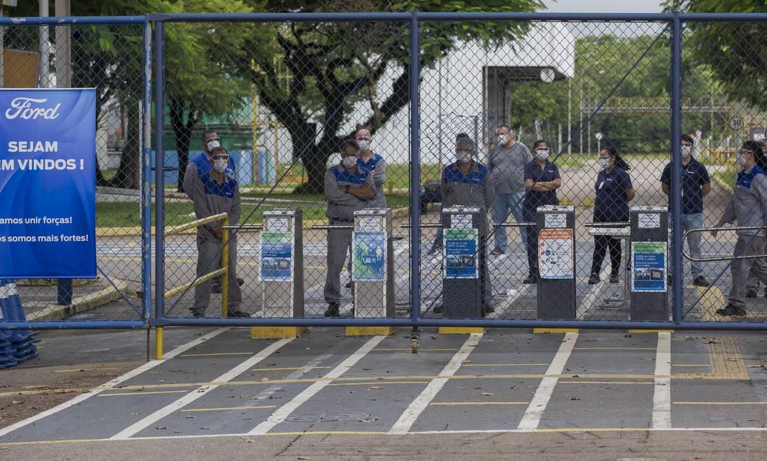 EC São Paulo ( SP ) 12/01/2021 Fechamento das fabricas da Ford no Brasil . Foto: Edilson Dantas / O Globo Foto: Edilson Dantas / Agência O Globo