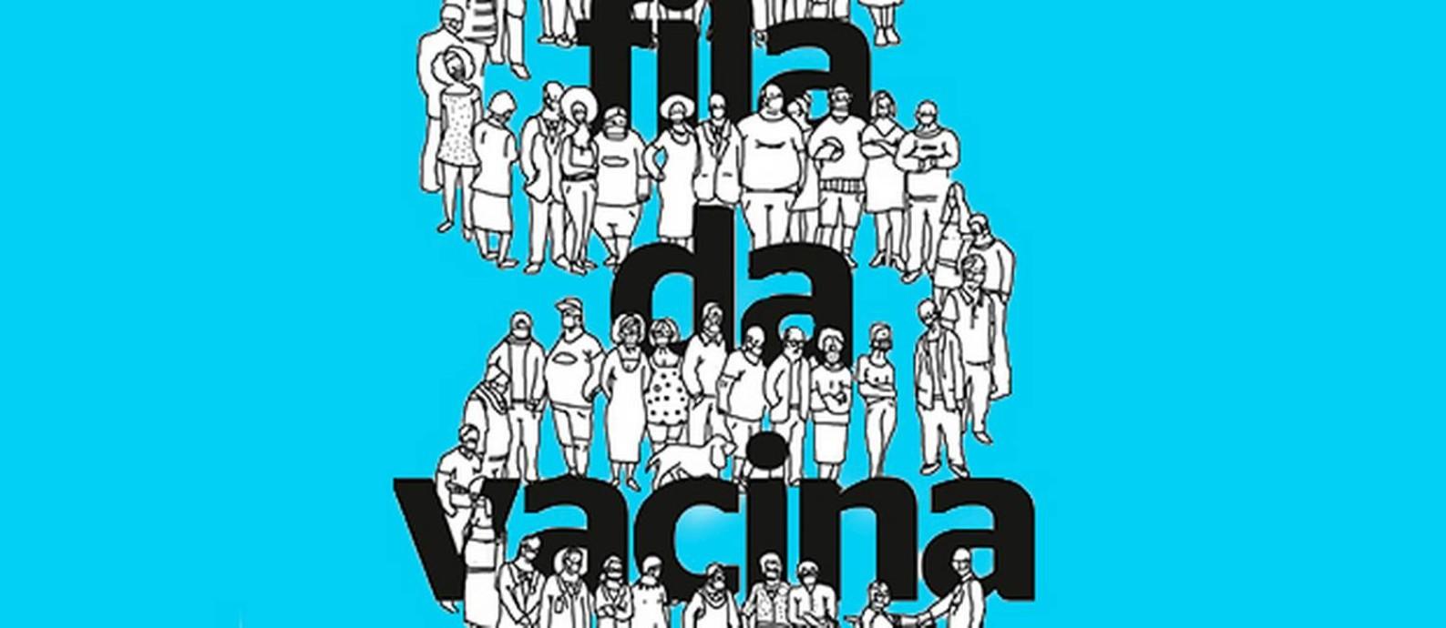 Quem é você na fila da vacina? Ferramenta do Globo mostra sua posição na espera pelo imunizante Foto: Arte