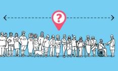 Quem é você na fila da vacina? Ferramenta do GLOBO mostra qual sua posição na espera pelo imunizante Foto: Arte