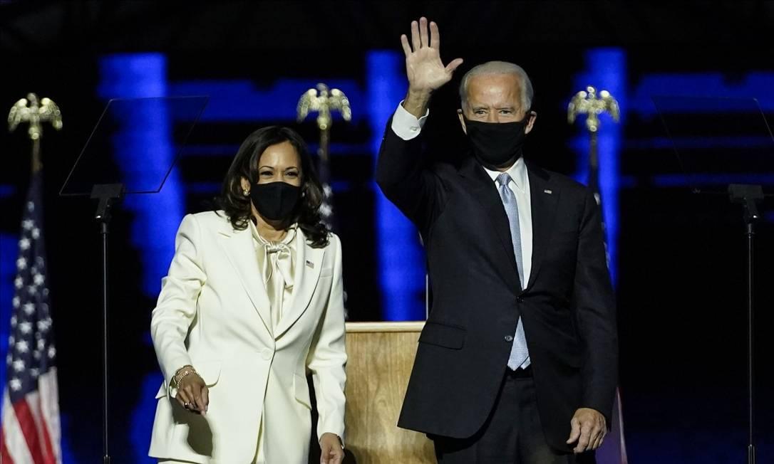Joe Biden e Kamala Harris Foto: Andrew Harnik / AFP