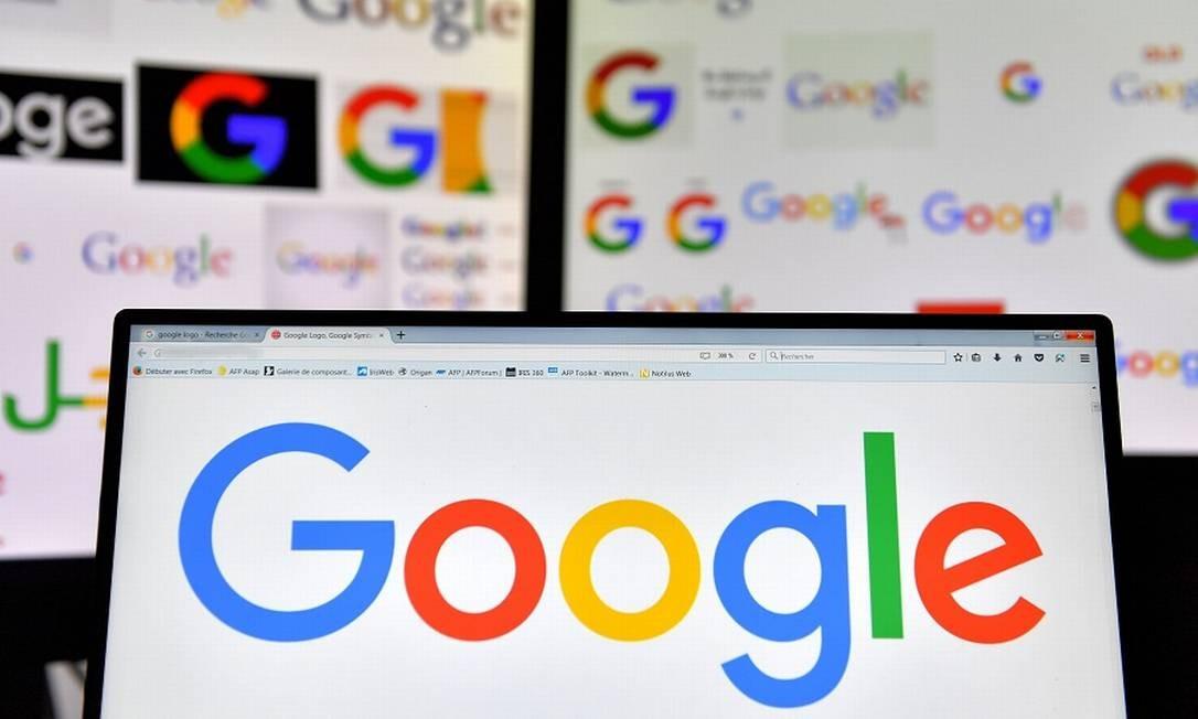 Google: acordo com Facebook deu vantagens a ambas as empresas no setor de anúncios na internet Foto: LOIC VENANCE / AFP