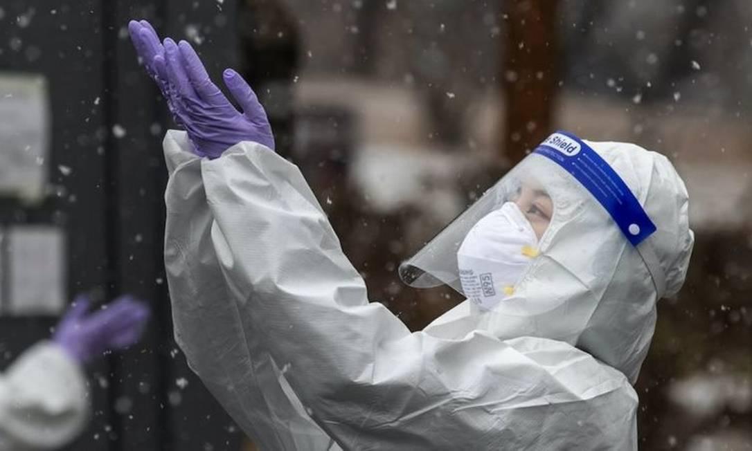 Coreia do Sul implementou testagem em massa e rastreamento de casos suspeitos no início da pandemia Foto: Reuters