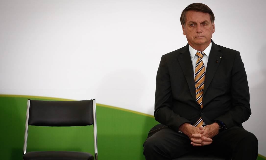 A reunião não constou da agenda oficial e todos os ministros foram convocados por meio de mensagem de WhatsaApp na véspera, com o objetivo de evitar vazamento Foto: Pablo Jacob / Agência O Globo
