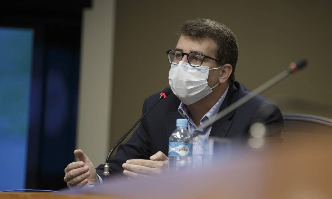Daniel Soranz, secretário municipal de Saúde Foto: Márcia Foletto / Agência O Globo / 08-01-2021