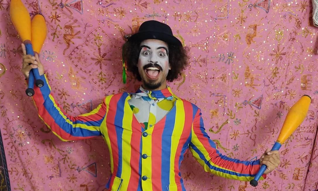 Passarim é o apresentador das atrações on-line do Carioca Shopping Foto: Divulgação