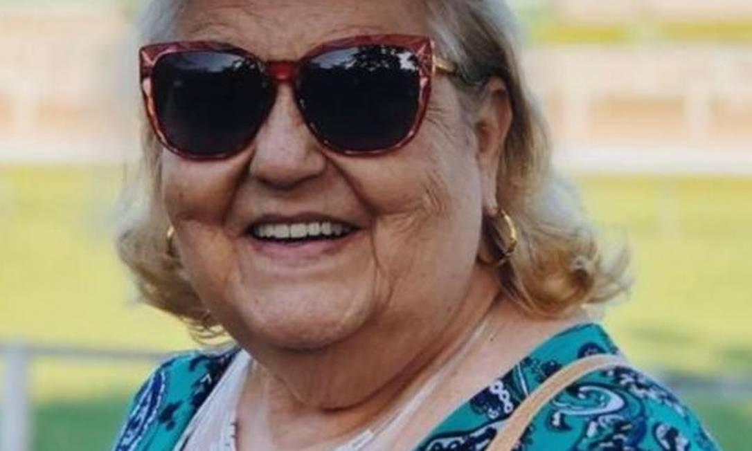 Edna Moreno, 78 anos, vai receber a vacina na semana do seu aniversário Foto: Arquivo Pessoal
