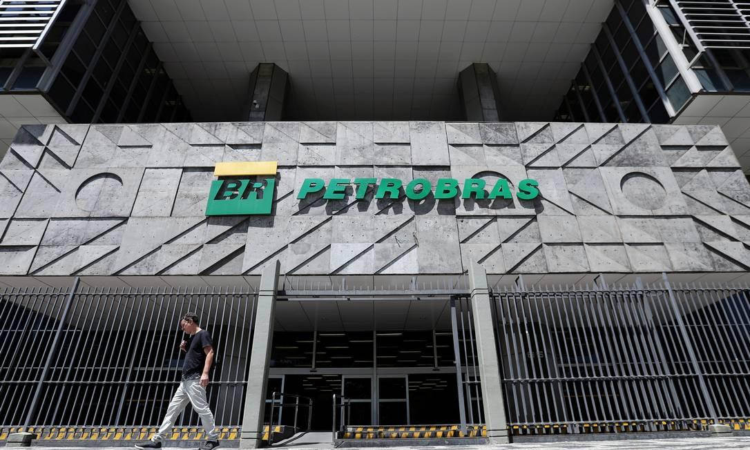 Sede da Petrobras, no Centro do Rio Foto: Sergio Moraes/9-3-2020 / Reuters