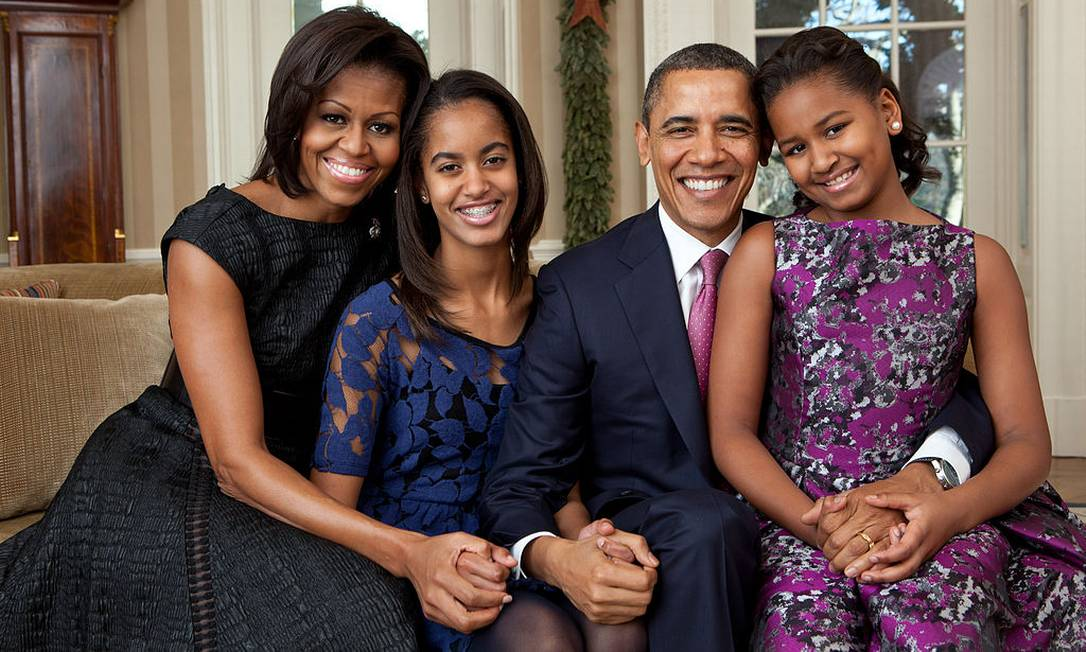 Obama family: Michelle, Malia, Barack and Sasha lived in the White House between 2009 and 2017 Photo: Archive / White House