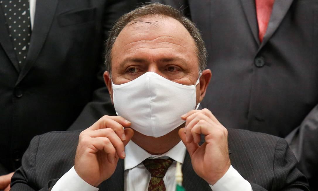 O ministro da Saúde, Eduardo Pazuello 18/01/2020 Foto: STRINGER / REUTERS