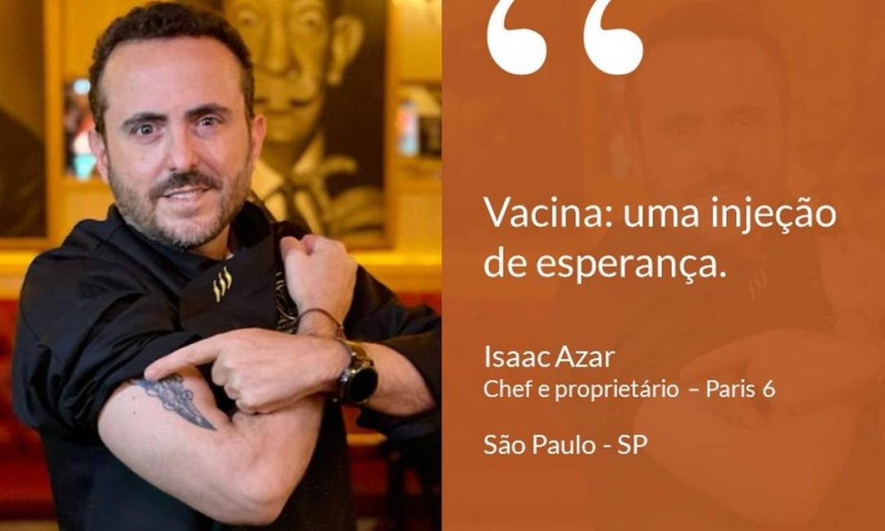 Isaac Azar, chef e fundador da rede de restaurantes Paris 6, que tem forte atuação nas redes sociais. Foto: Divulgação