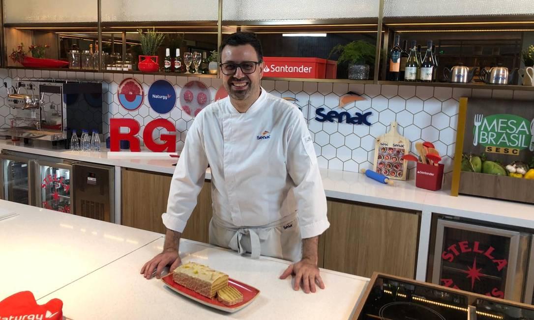 O chef belga Frédéric de Maeyer Foto: Reprodução