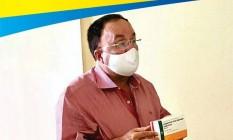 Prefeito do município Candiba (BA), Reginaldo Martins Prado Foto: Reprodução/ Facebook