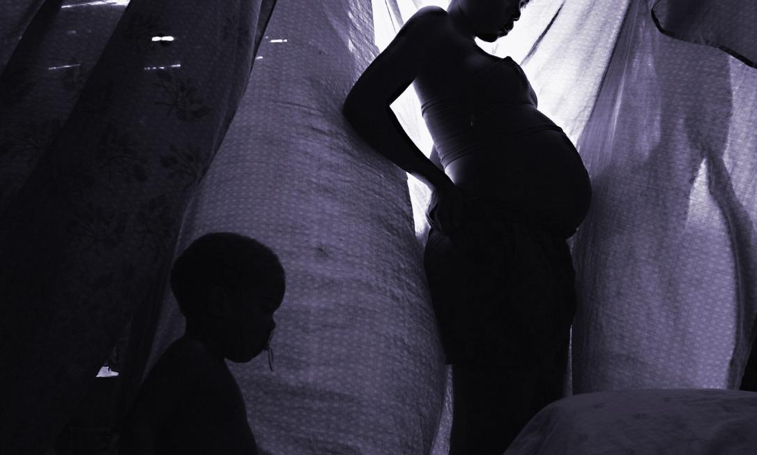 Estudo do Fundo de População da ONU estima que pelo menos 1,4 milhão de gravidezes indesejadas aconteceram em 2020 por causa da pressão exercida pela pandemia nos sistemas de saúde Foto: Agência O Globo