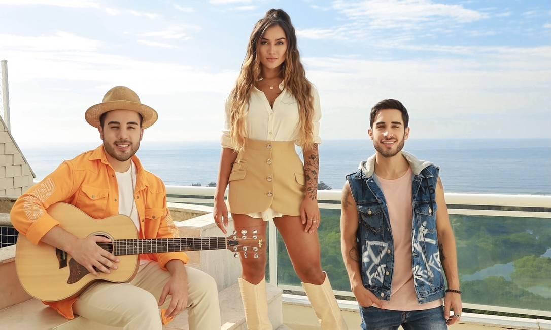 O trio pop Melim Foto: Divulgação/Felipe Carzo