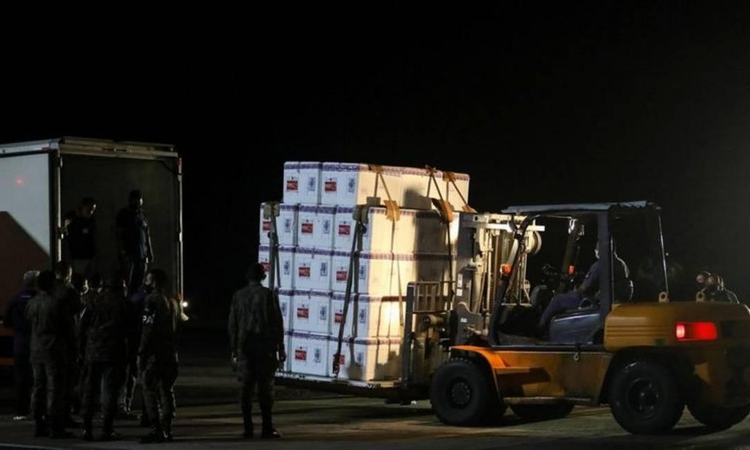 Houve atrasos na distribuição da Coronavac pelo Ministério da Saúde Foto: REUTERS