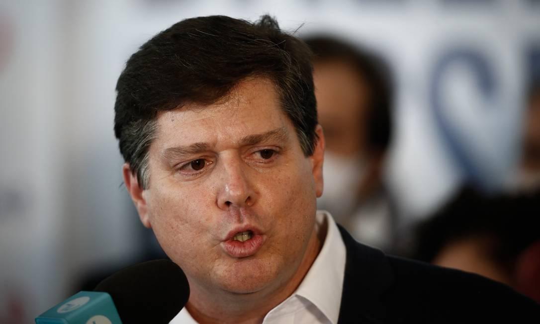 O deputado federal Baleia Rossi (MDB-SP) Foto: Pablo Jacob / Agência O Globo 06-01-2021