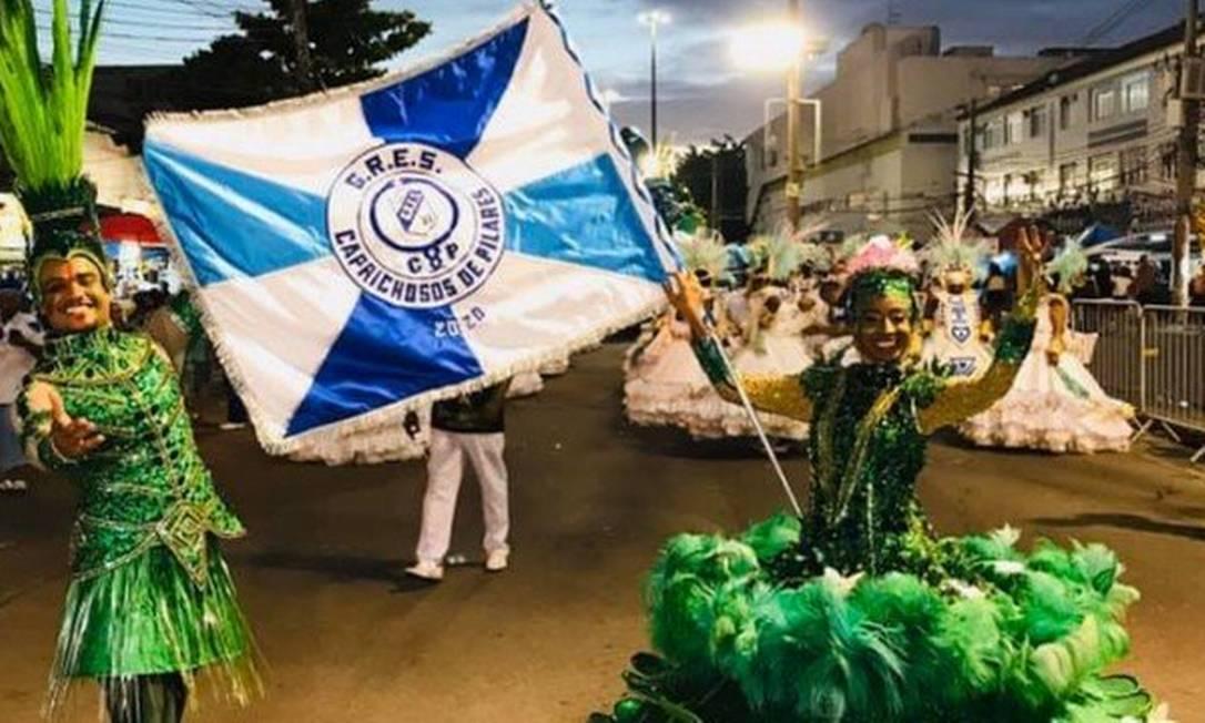 Preocupação das escolas com um desfile seguido de outro Foto: Agência O Globo