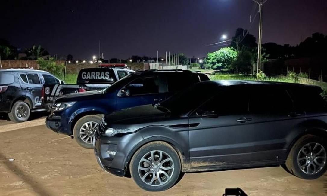 Policiais cercaram casa onde havia suspeitos de integrar quadrilha; operação resultou em oito mortos Foto: Divulgação