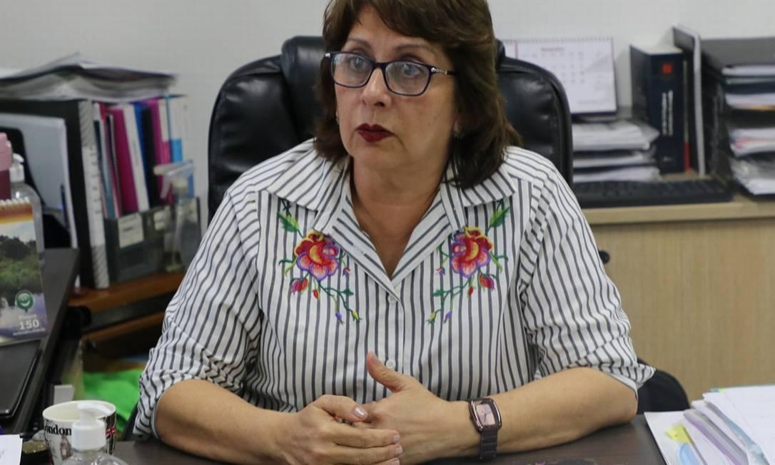 Rosemary Pinto, diretora-presidente da Fundação de Vigilância em Saúde do Amazonas (FVS-AM) Foto: Divulgação