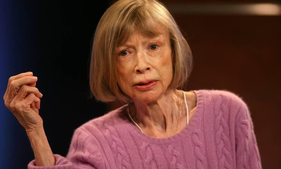Joan Didion em 2007: radiografia do desmoronamento dos EUA Foto: SARA KRULWICH / NYT