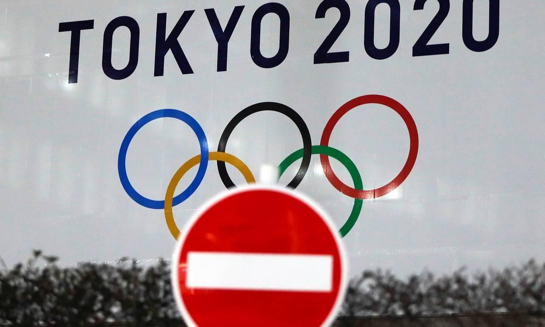 Faltando seis meses para os Jogos Olímpicos, incerteza ainda está no ar, apesar do governo japonês e do COI garantirem que evento será realizado neste ano mesmo com a pandemia Foto: ISSEI KATO / REUTERS