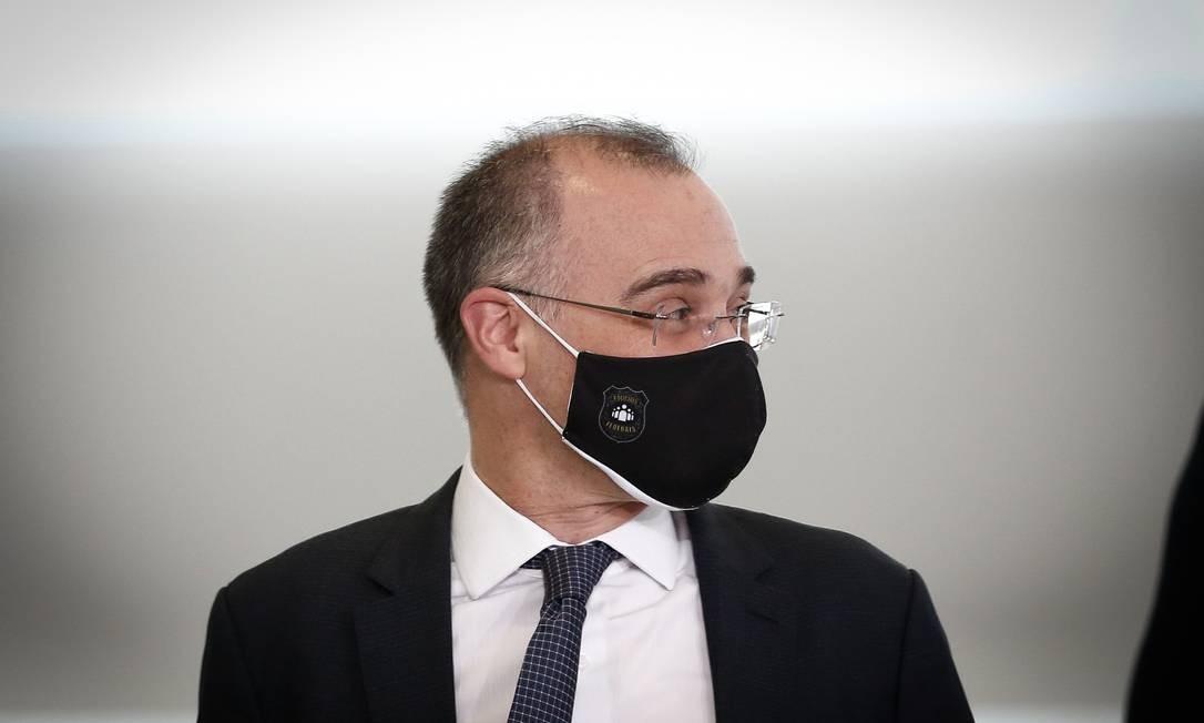 Ministro da Justiça, André Mendonça Foto: Pablo Jacob / Agência O Globo